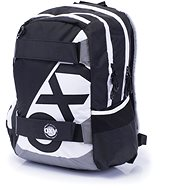 Karton P + P Oxy Sport I. Black & White - Detský ruksak