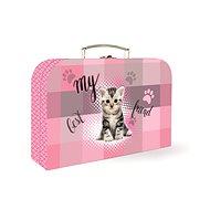 Kartón P + P Lamino Junior mačka - Detský kufor