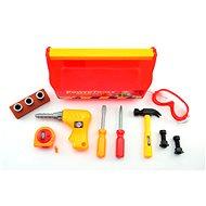Teddies Malý stavbár v kufríku - Didaktická hračka