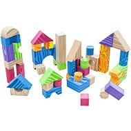 Hračka pre najmenších Teddies Kocky penové farebné mäkké