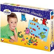 Detoa Magnetická abeceda - Stavebnica