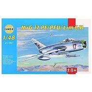 Směr Model Kit 0827 lietadlo – MIG 17 PF/PFU/lim 6M - Plastový model