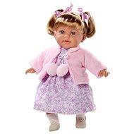 Teddies Bábika voňajúca Arias – ružové šaty - Bábika