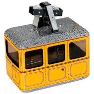 Kovap Lanovka žltá na kľúčik - Kovový model