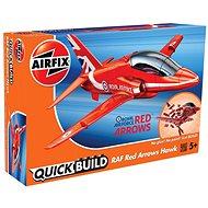 Airfix Quick Bulid J6018 lietadlo – Red Arrows Hawk - Plastikový model