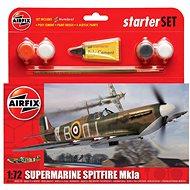 Airfix Starter Set A55100 Lietadlá - Supermarine Spitfire Mk1a - Plastový model