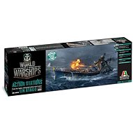 Italeri World of Warships 46502 – INJ Atago - Plastový model