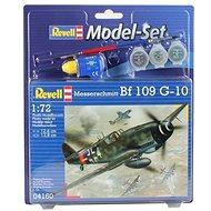 Revell Model Set 04160 lietadlo - Messerschmitt Bf 109 G-10 - Plastikový model