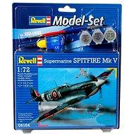 Revell Model Súprava 64164 lietadlo – Spitfire Mk. V - Plastový model