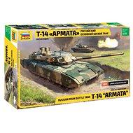"""Zvezda Model Kit Z3670 tank – ruský moderný tank T-14 """"Armáda"""" - Plastový model"""