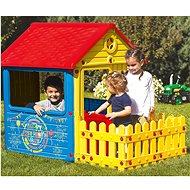 DOLU Detský záhradný domček s plotom - Detský domček