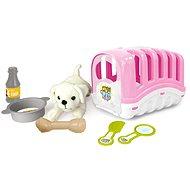 Plyšová hračka DOLU Môj prvý maznáčik, ružový