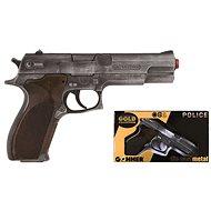 Policajná pištoľ Gold collection - Detská zbraň