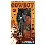 Kovbojská súprava Revolver + šerifská hviezda - Detská zbraň