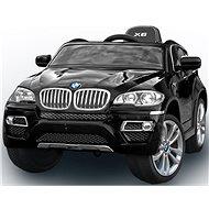 BMW X6 Luxury lakované čierne - Detské elektrické auto
