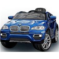 BMW X6 Luxusné maľované modré - Detské elektrické auto