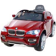 BMW X6 Luxury lakované červené - Detské elektrické auto