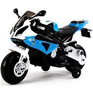BMW S1000 modrá - Detská elektrická motorka