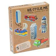 Súprava Re-cycle me pre chlapcov – kartón od mlieka