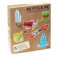 Set Re-cycle me pre chlapcov – PET fľaša - Herná sada
