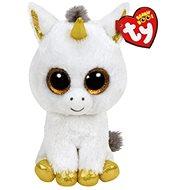 Beanie Boos Pegasus – White Unicorn - Plyšová hračka
