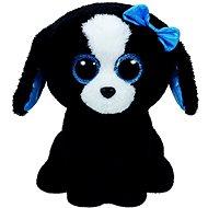Plyšová hračka Beanie Boos Tracey – Black/White Dog