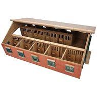 Mikro Trading Kids Globe Stáj pro koně - Drevený model