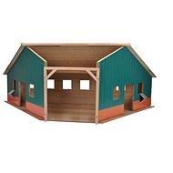 Mikro Trading Kids Globe Garáž/farma - Drevený model