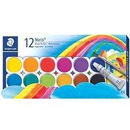 Staedtler Vodové farby Noris Club 12 ks - Vodové farby
