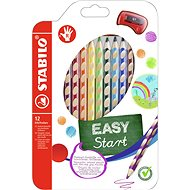 Stabilo Easycolours pre pravákov 12 ks - Pastelky