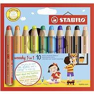 Stabilo Woody 10 farieb - Kreatívna súprava