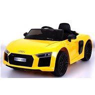 Audi R8 Spyder – žlté - Detské elektrické auto