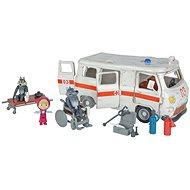 Simba Máša a medveď Ambulancia herná súprava - Nábytok pre bábiky