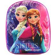 Zmrazená Anna a Elsa 3D - Batoh