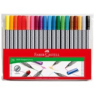 Faber-Castell Fixky Grip 0,4 mm, 20 farieb - Fixky