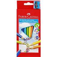Faber-Castell Pastelky Jumbo, 10 Farieb - Pastelky