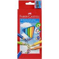 Faber-Castell Pastelky Jumbo, 20 Farieb - Pastelky