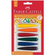Faber-Castell Plastové pastelky, 6 farieb - Pastelky