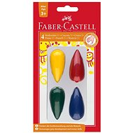 Faber-Castell Plastové Pastelky do dlane, 4 Farby - Pastelky