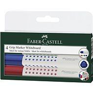 Faber-Castell Grip Marker Whiteboard, 4 ks - Sada kancelárskych potrieb