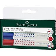 Faber–Castell Grip Marker Whiteboard, 4 ks - Súprava kancelárskych potrieb