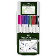 Faber-Castell Slim Whiteboard Marker, 6 ks - Sada kancelárskych potrieb