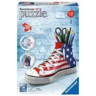 Ravensburger 3D 125494 Kecka vlajkový design - Puzzle