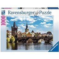 Ravensburger Praha: Pohľad na Karlov most - Puzzle
