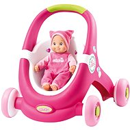 Smoby Minikiss Baby Walker 2v1 - Chodúľka