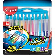 Maped Color Peps Long Life, 12 farieb - Fixky