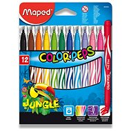 Maped Color Peps Jungle, 12 farieb - Fixky