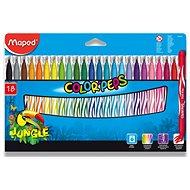 Maped Color Peps Jungle, 18 farieb - Fixky