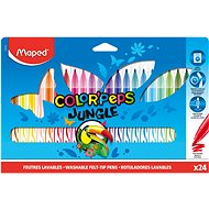 Maped Color Peps Jungle, 24 farieb - Fixky
