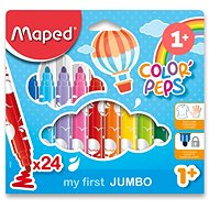 Maped Color Peps Jumbo, 24 farieb - Fixky